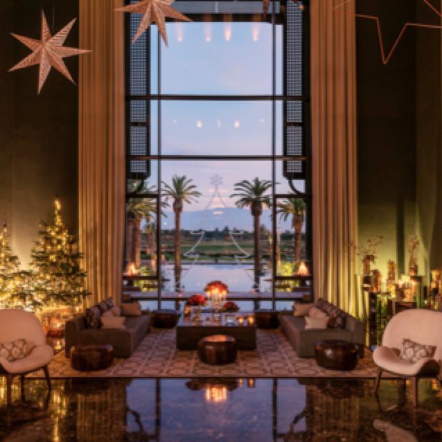 Des fêtes de fin d'année exotiques au Fairmont Royal Palm Marrakech