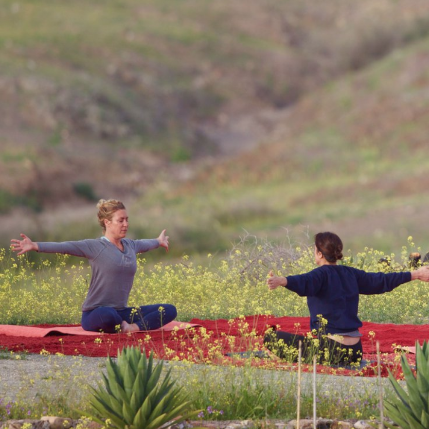 Séjours yoga au cœur du désert d'Agafay
